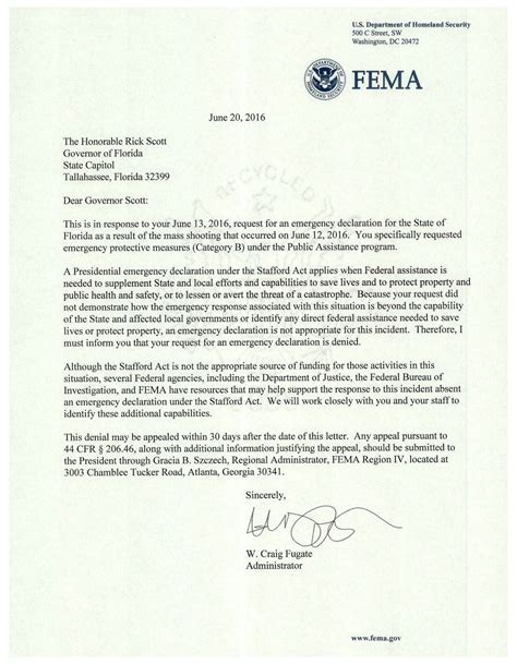 How To Write An Appeal Letter For Fema Sle Letter To Fema Pictures To Pin On Pinsdaddy