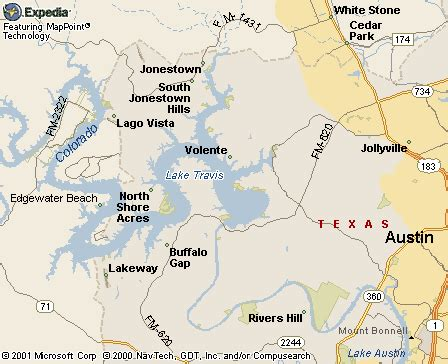 lake map of texas travis lakes of texas real estate texas lake homes and waterfront property