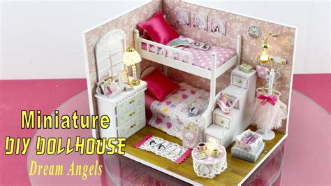 Diy Do It Yourself Miniature House Baby Room diy miniature dollhouse kit with working lights quot quot