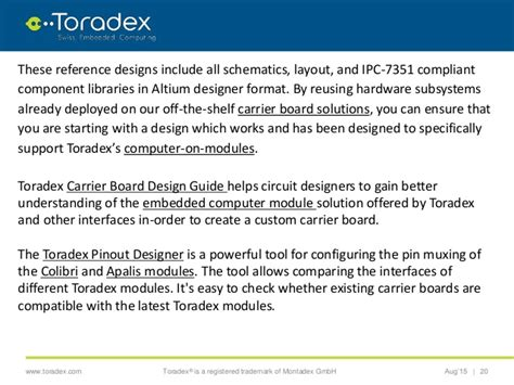 toradex layout design guide technological trends in the field of circuit board design