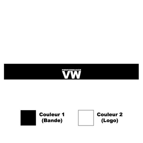 Vw Performance Aufkleber by Sticker Bande Pare Soleil Volkswagen Vw Performance