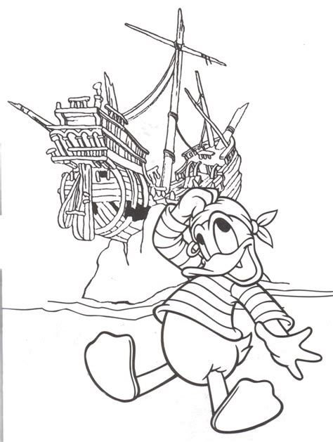 coloring pages disney pirates caribbean 1000 images about mickey donald friends disney