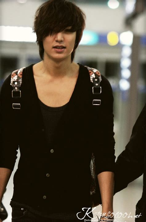 video film korea lee min ho lee min ho s airport fashion sexy dandy look hancinema