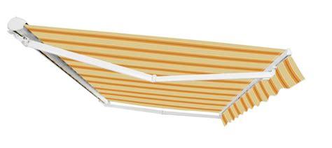 tenda da sole elettrica tenda da sole elettrica a cassonetto parziale a strisce