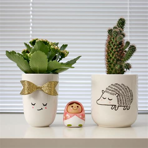 cute plants cute plant pots ideas kao ani com