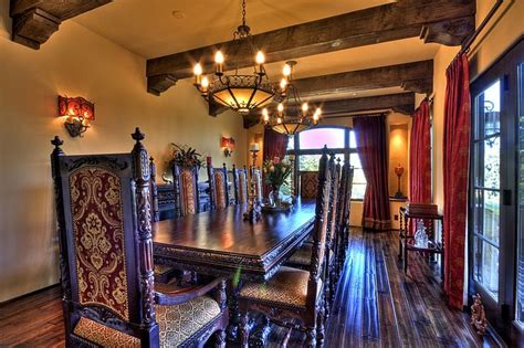 Dining Room In Spanish Spanish Colonial Revival Dining Room Spanish Style
