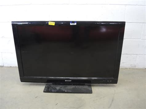 sharp aquos 40 quot lcd tv property room
