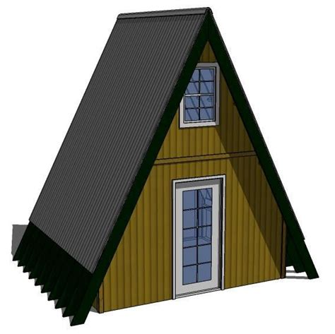 A Frame House Pictures Tiny House Plans 10 X12 Aframe Exterior Shell By