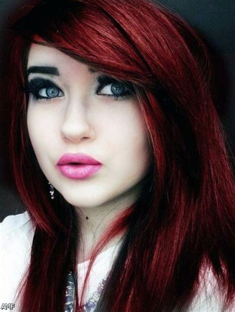 red hairstyles 2015 dark purple red black hair 2015 2016 fashion trends 2016