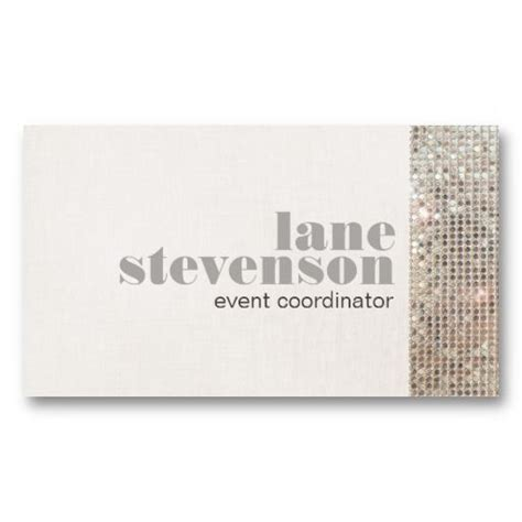 Event And Entertainment Planner Sequins Business Card Templates Market Us A S K Occasions Cheap Business Card Templates