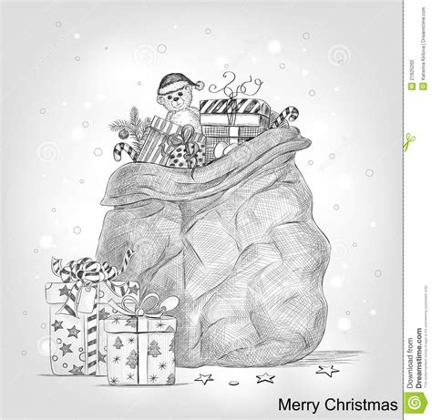 christ mas one drawing photo card stock vector image of 21825260