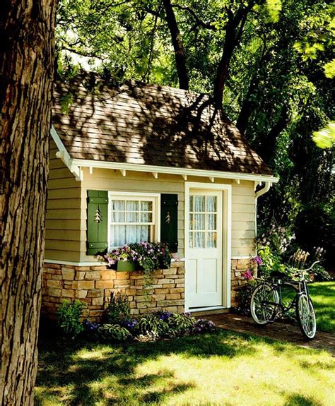 small backyard cabins cottage shed plansshed plans shed plans