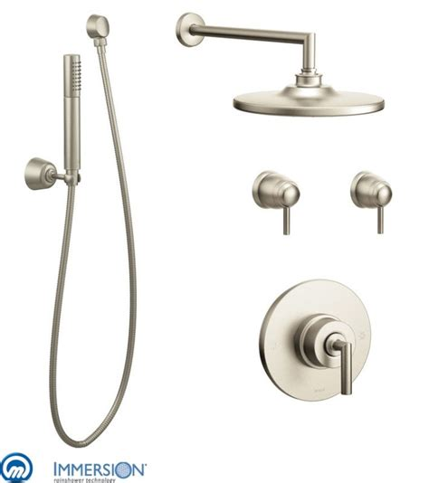 Moen Thermostatic Shower Valve by Faucet 970bn In Brushed Nickel By Moen