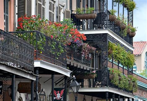 San Diego Hotels With Balcony by Balconies In The French Quarter