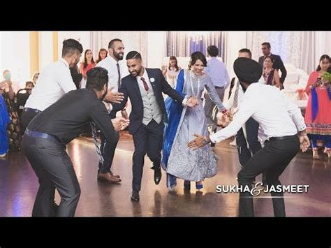 Sukha & Jasmeet   Surprise Engagement Performance   Phim