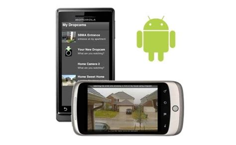 dropcam android app dropcam android app monitor your webcams on the move