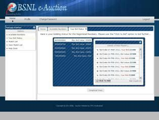 Vanity Numbers For Bsnl Mobiles by Bsnl Vanity Number Auction Site