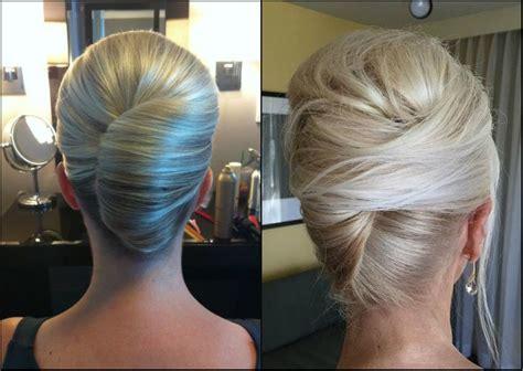 Die Eleganteste Französisch Twist Frisuren   Neue Frisur Stil