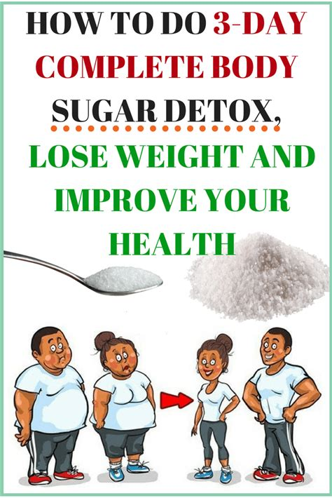 How To Do A Sugar Detox by How To Do 3 Day Complete Sugar Detox Lose Weight And
