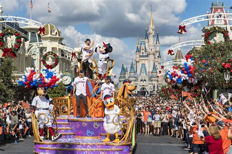 new year parade characters houston astros players celebrate world series victory at