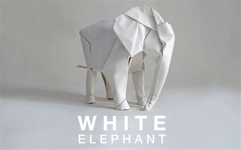 Origami Elephant - artist sipho mabona is planning to make a lifesize origami