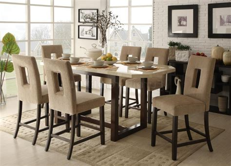 pub height kitchen table pub dining table dining room tables height of a dining