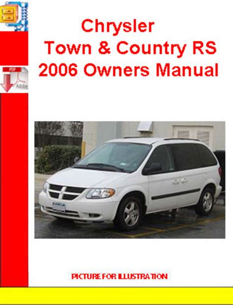 free auto repair manuals 1993 chrysler town country engine control chrysler town country rs 2006 owners manual download manuals a