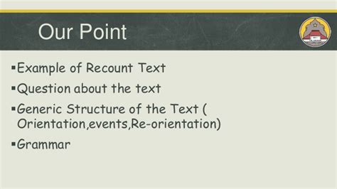 biography recount generic structure ppt contoh recount text kelas x