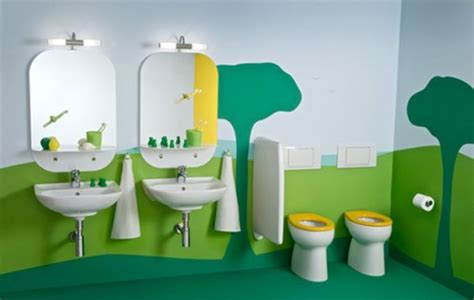 green kids bathroom 30 playful and colorful kids bathroom design ideas