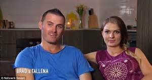 seven year switch brad and tallena reveal show shockers seven year switch s tallena and brad tie the knot in