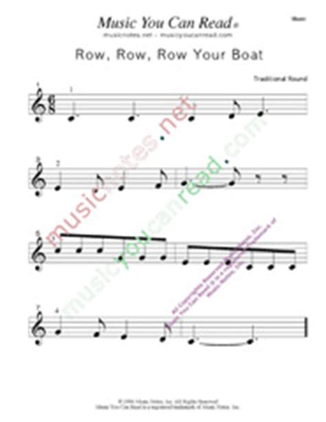 row row row your boat kodaly quot row row row your boat quot traditional lyrics music notes