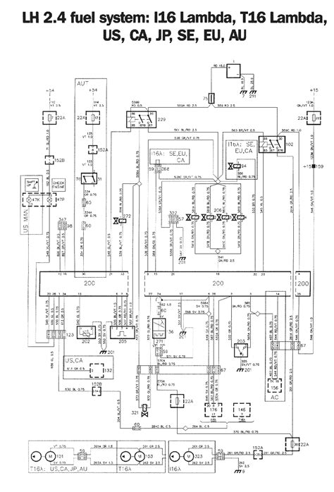 lh2 4 ecu pin layout the saab link forums