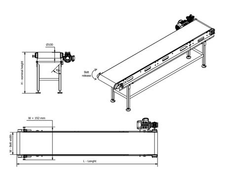 design guidelines light belt conveyor installations easy cleaning stainless steel conveyor belt conveyors