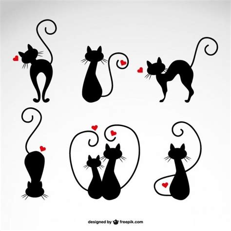 love tattoo vector under the paw design free cat icons for your meowelous