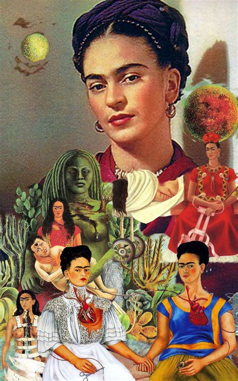frida kahlo passion and bolsa frida collage artists collage and artist