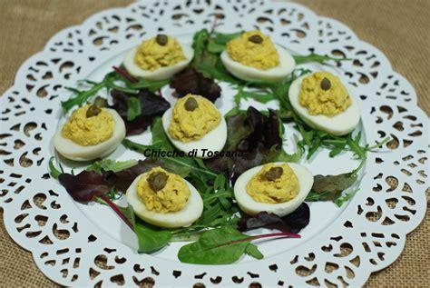 cucinare le uova sode uova sode ripiene quot speciale pasqua quot chicche di toscana