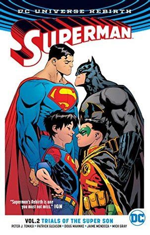 superman, volume 2: trial of the super sons by peter j. tomasi
