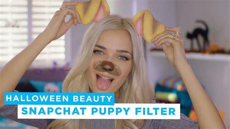 primark roxxsaurus snapchat puppy filter tutorial
