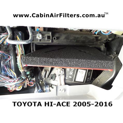 toyota air filter cabin air filters toyota hi ace cabin air filter 2005 2018