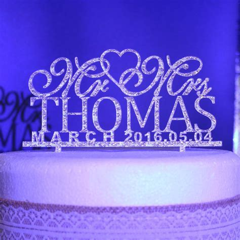 2019 Wholesale Personalized Wedding Cake Toppers, Custom