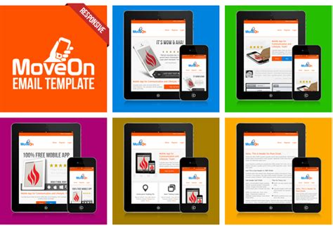 mobile friendly email templates moveon mobile friendly and responsive html email by