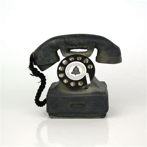 telefon retro dekorace retro telefon 12x12cm