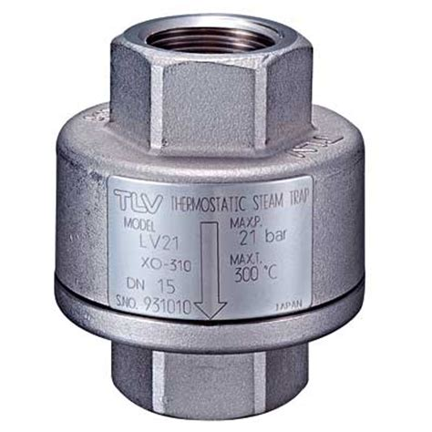 thermostatic steam traps | tlv a steam specialist
