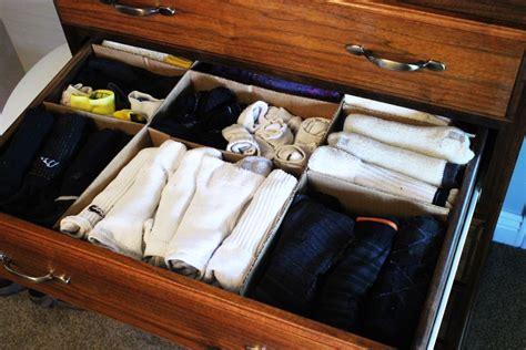 diy sock drawer diy drawer dividers in 15 minutes or less