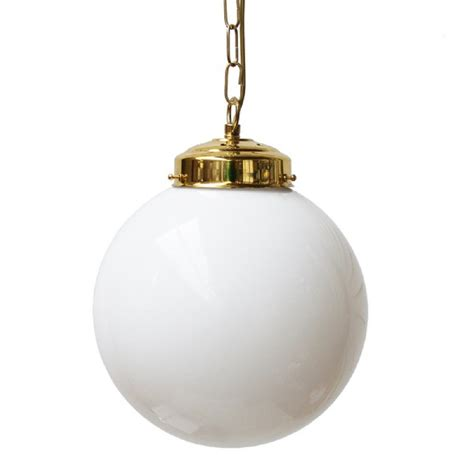 Pendant Light Globes with Opal Glass Globe Ceiling Pendant Light Shade In Deco Styling