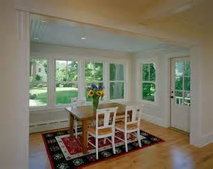 Dining Room Addition by Breakfast Room Addition With Custom Millwork Beadboard