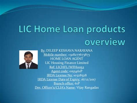lic housing loan lic home loan products overview