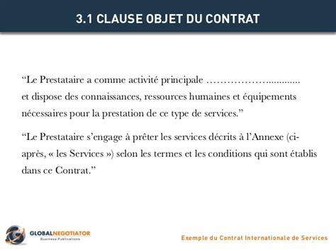Modèle Contrat Prestation De Service