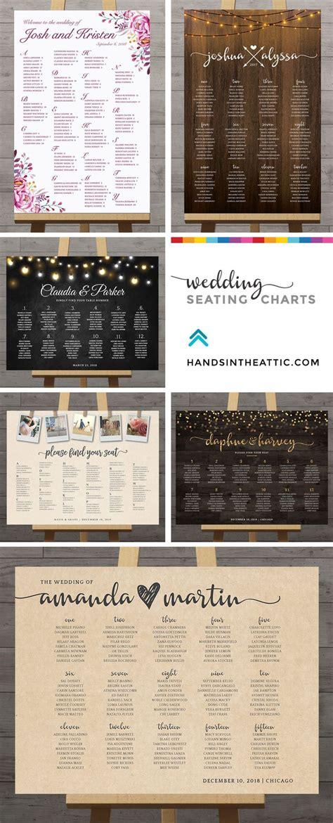 wedding seating chart printable wedding seating chart poster
