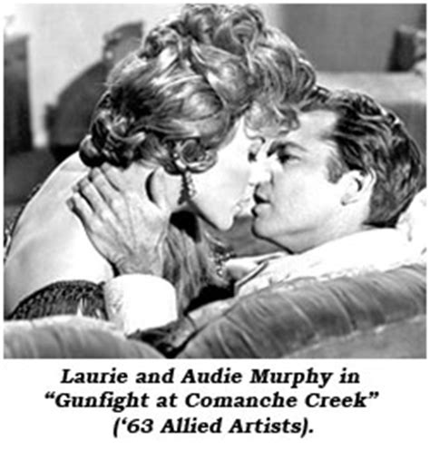 audie murphy relationships laurie mitchell